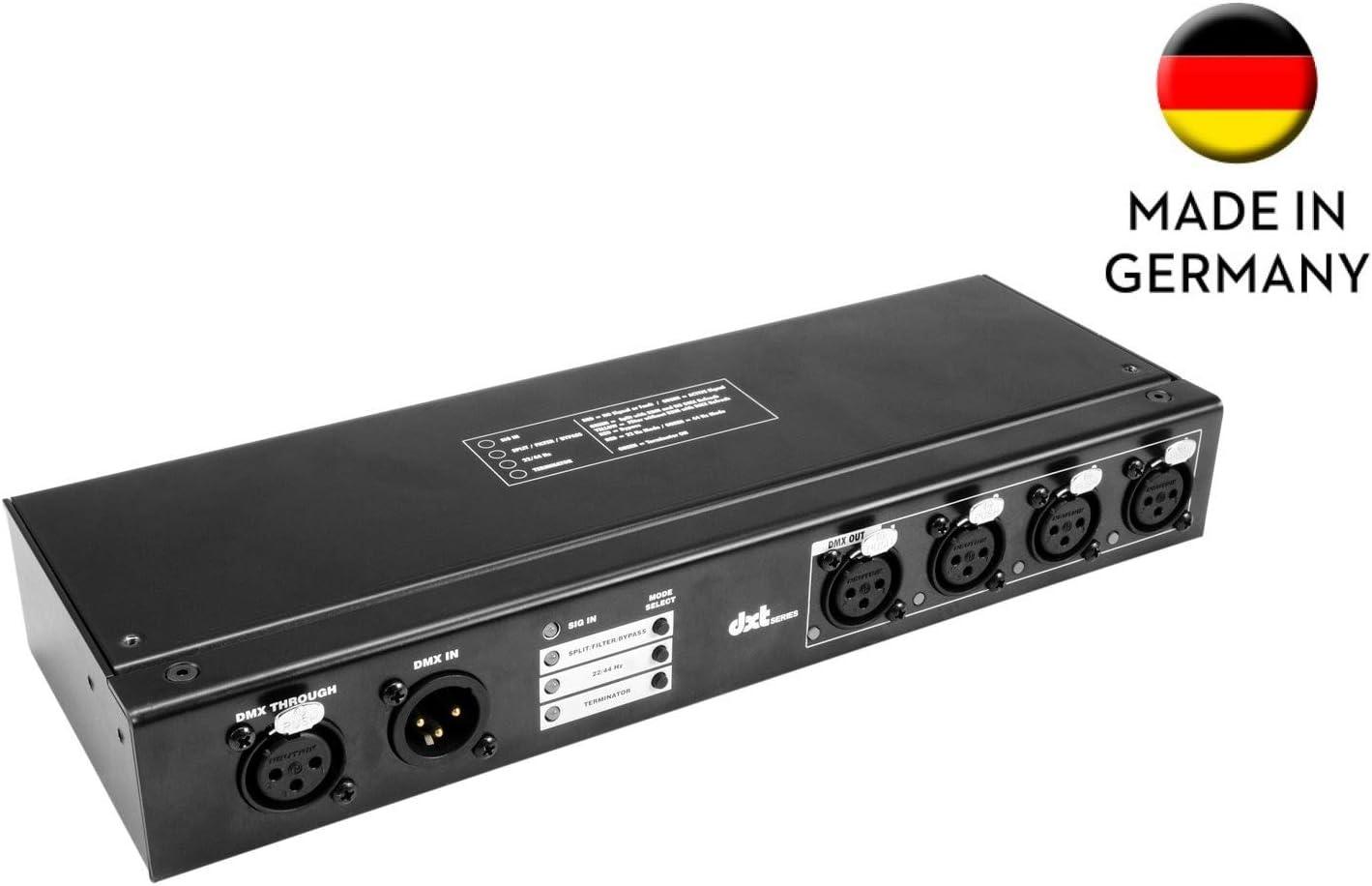 EUROLITE DXT-SP 1in//4out PRO DMX RDM Splitter