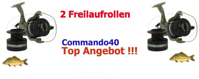 Vigor Commando 40 Freilaufrollen 3 St/ück