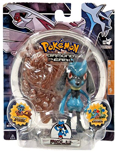 Pokemon Diamond & Pearl Series 5 Basic Figure with Battle Link -Riolu