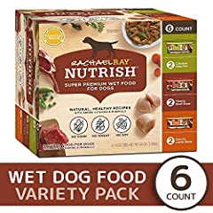 3 great recipes that include delicious real meats your dogs love, along with healthy vegetables, cooked in a yummy broth.