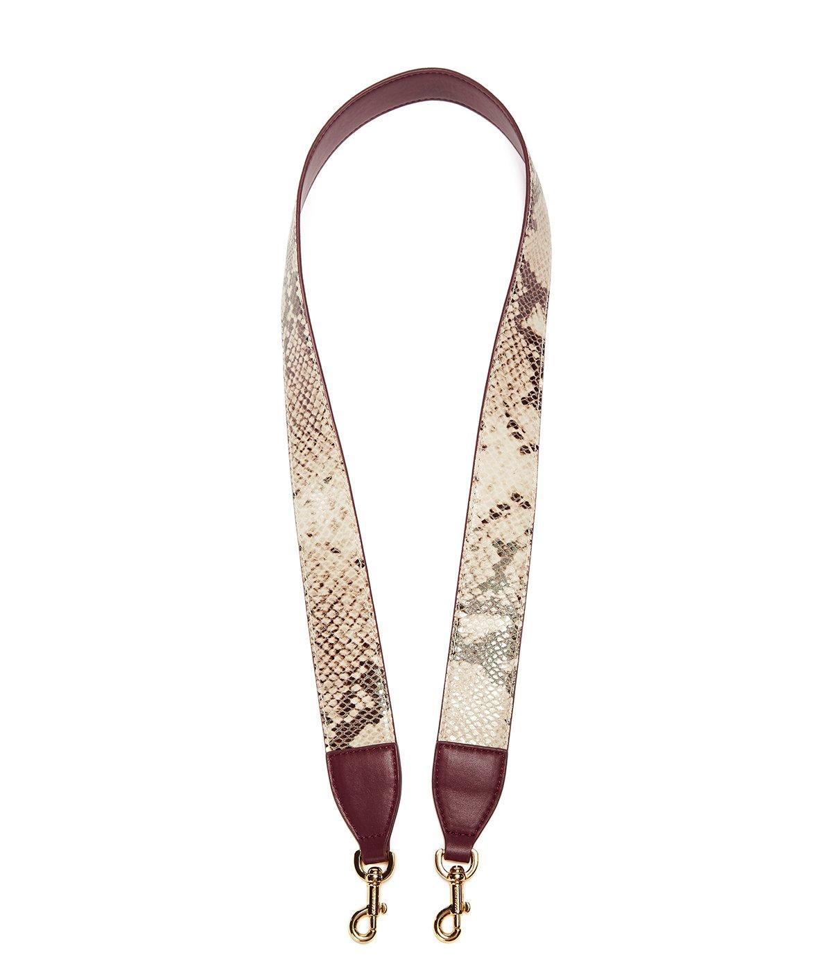 EMINI HOUSE Leather Shoulder Strap Influencer Handbag's Belt