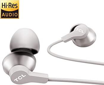 TCL Elit100 Hi-Res Wired Noise Isolating Earphones With Built-in Mic
