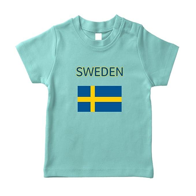 a28beea00 Amazon.com  Heart Love Sweden Soccer Ball Soccer Cotton Short Sleeve ...