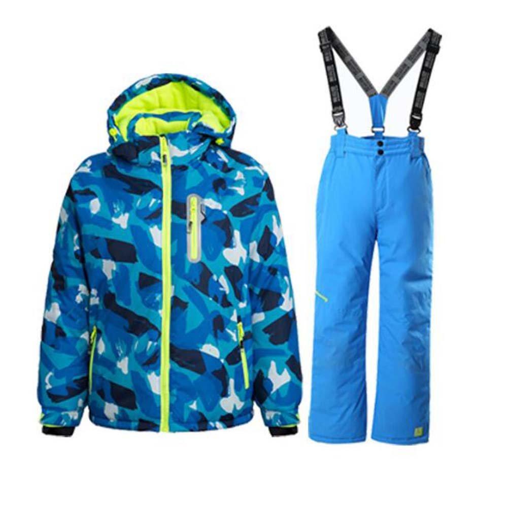 Wonny Boys Ski Jacket Pants Kids Waterproof Winter Skisuit SK0008/CA