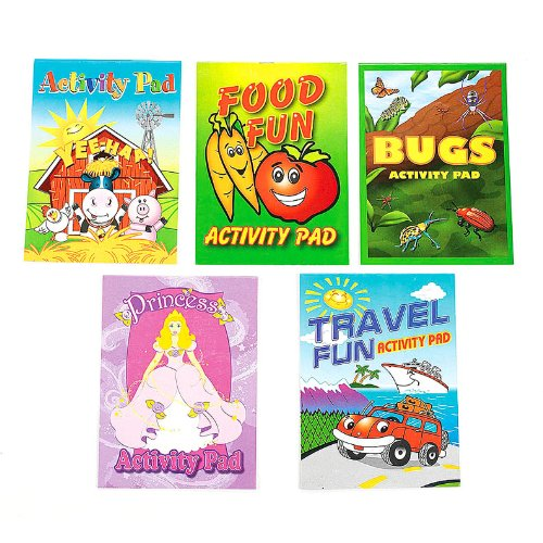 Fun Express Activity Pad Assortment