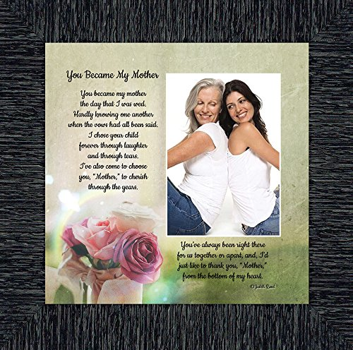 Personally Yours You Became My Mother, Gifts for Mother in Law, in Law Frames, 10x10 6339CH