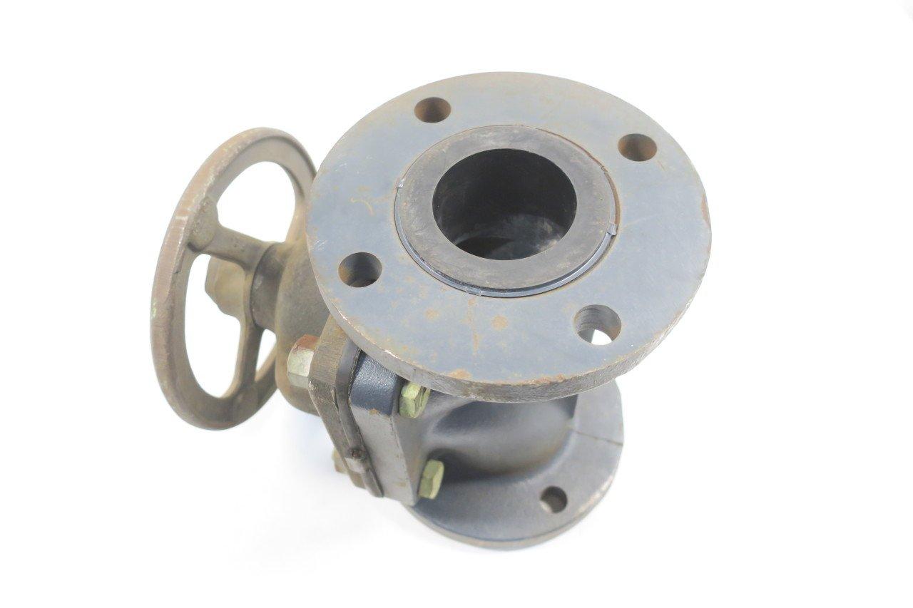 5 Iron FLANGED Diaphragm Valve 3IN D591051 HILLS MCCANNA FIG NO