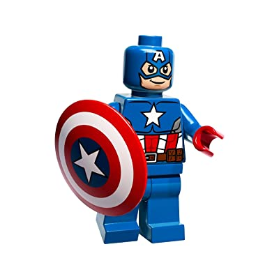 LEGO DC Universe Super Heroes Captain America with Shield (2014): Toys & Games