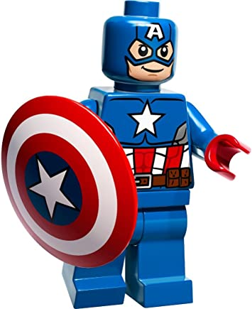 Amazon Com Lego Dc Universe Super Heroes Captain America With Shield 2014 Toys Games