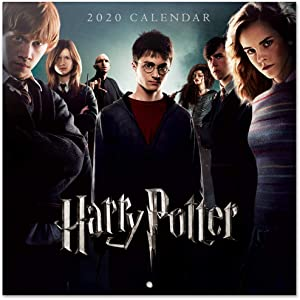 ERIK - Harry Potter 2020 Wall Calendar (Free Poster Included), Home Office Planner, (12 Months), 30 x 30cm