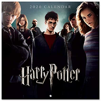 Erik, Calendario de Pared 2020 Harry Potter, Incluye Póster ...