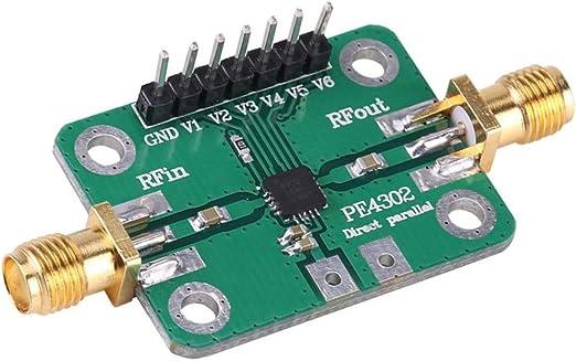 Gaodpz RF Attenuator PE4302 Numerical Control D/ämpfungsglied Parallel Immediate Mode 1MHz-4GHz NC Attenuator