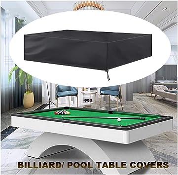 Billard Abdeckplane Schutzplane Abdeckung für Billardtisch Pool Snooker Tisch