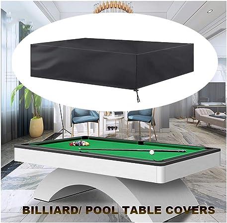 SJMDZZ Cubierta de Billar/Snooker/Funda de Mesa de Billar ...