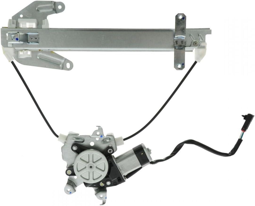 Power Window Regulator Rear RH Right Hand Passenger Side For 00-06 Nissan Sentra