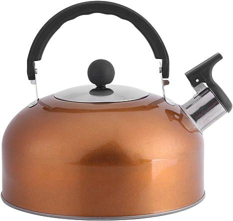 Yosoo tetera eléctrica acero inoxidable silbante (sin BPA hervidor ...