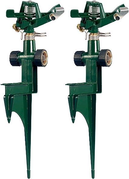 Orbit Premium Metal Impact Sprinkler On Metal Step Spike