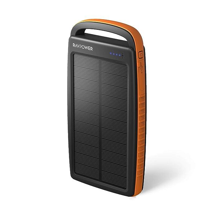 Cargador Solar 20000 mAh Cargador portátil Solar Power Bank ...