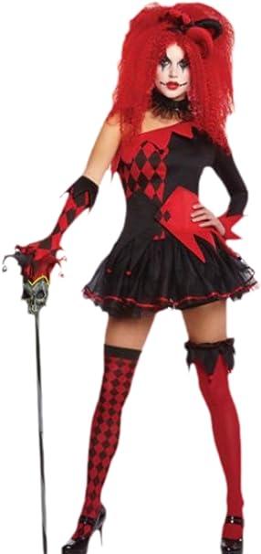 erdbeerloft – Mujer Joker Disfraz, disfraz de mujer, carnaval ...