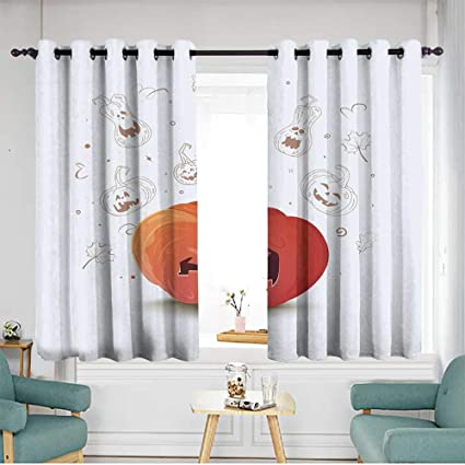 Amazon Com Living Room Bedroom Window Curtains Energy Efficient