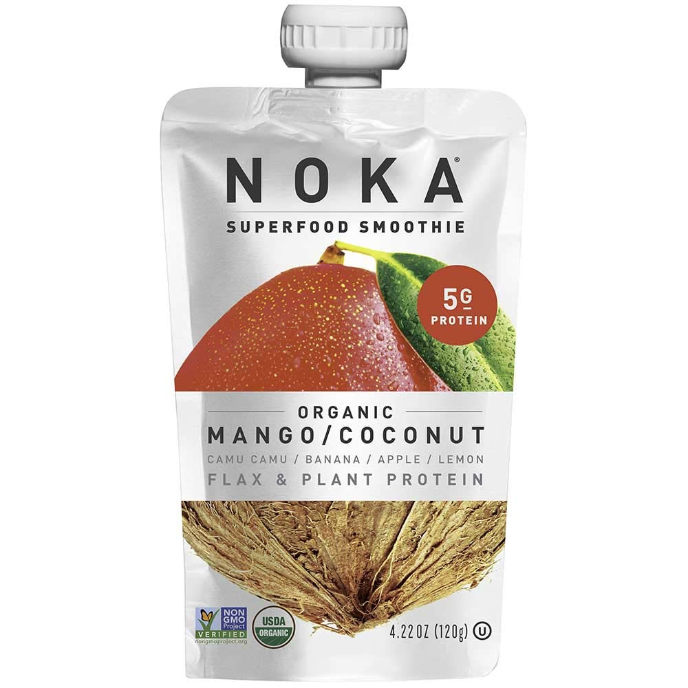 Noka Mango Coconut Superfruit Smoothie, 4.22 Ounce -- 12 per case. by NOKA