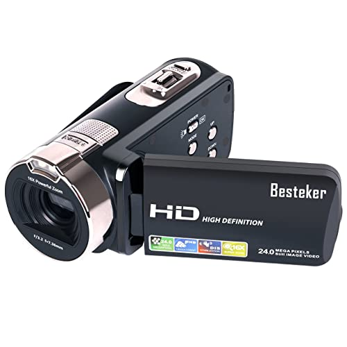 Besteker Portable 1080P 24MP 16X