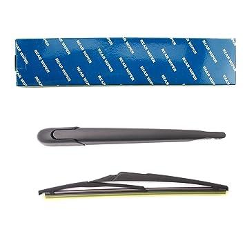Parabrisas Trasero Brazo limpiaparabrisas y juego de cuchillas para MEGANE 2 II: Amazon.es: Coche y moto