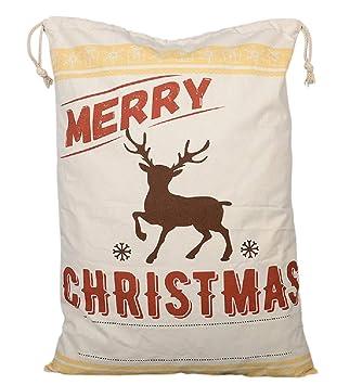 Amazon.com: Jolly Jon - Bolsas de Navidad grandes, diseño de ...