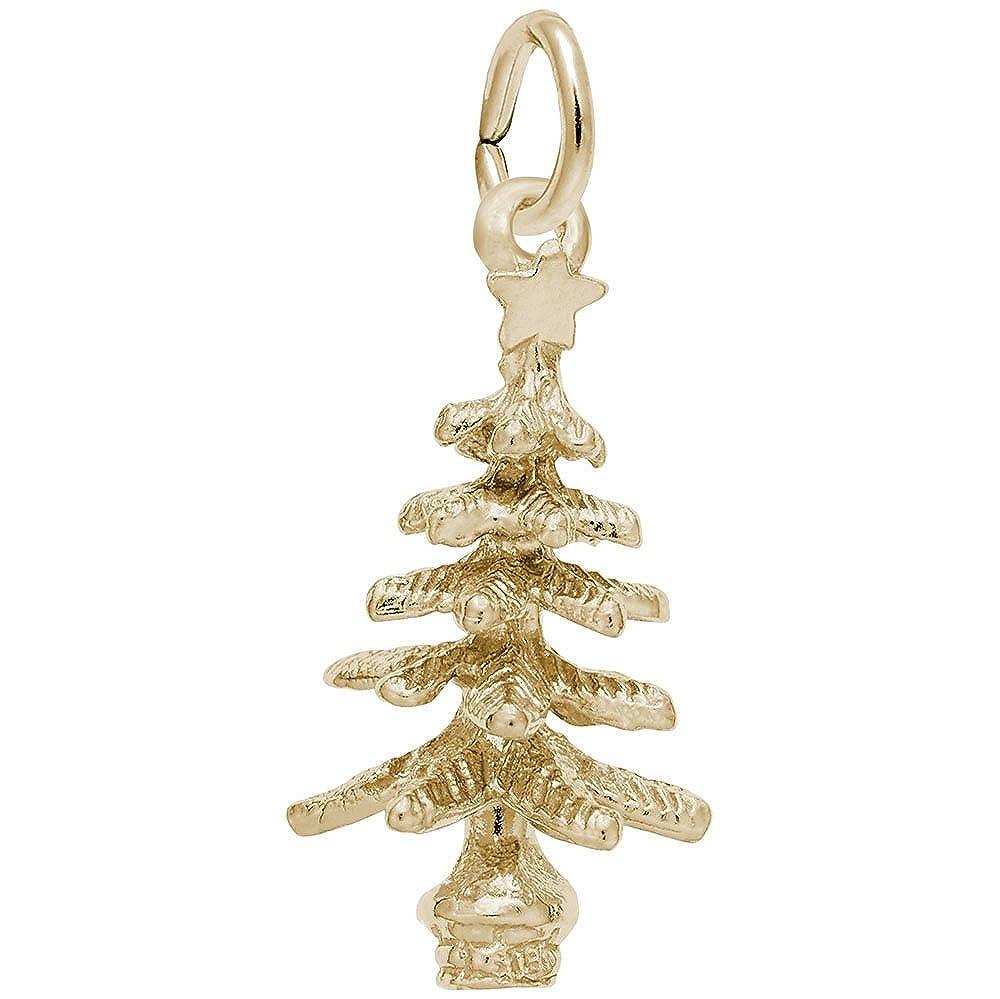 クリスマスツリーチャーム、チャームブレスレットとネックレス用   B0761KXLMV