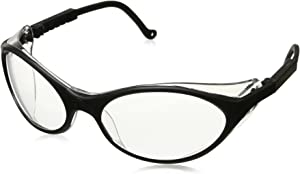 Uvex S1600X Bandit Safety Eyewear, Black Frame, Clear UV Extreme Anti-Fog Lens
