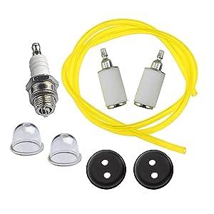 HIPA 3004105 Fuel Repower Kit for Earthquake E43 E43CE E43WC 10310 Dually Auger MD43 DP10P MC43 MC43E MC43ECE MC43CE MC43RCE Cultivator WE43 WE43E WE43CE Edger
