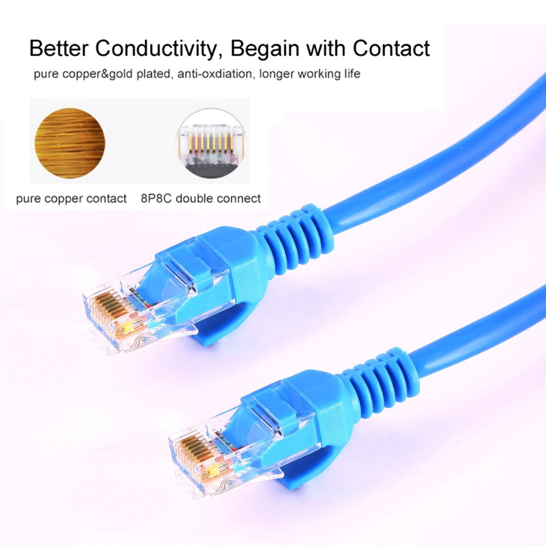 JIN Networking Accessory Cat5e Network Cable Length 15m
