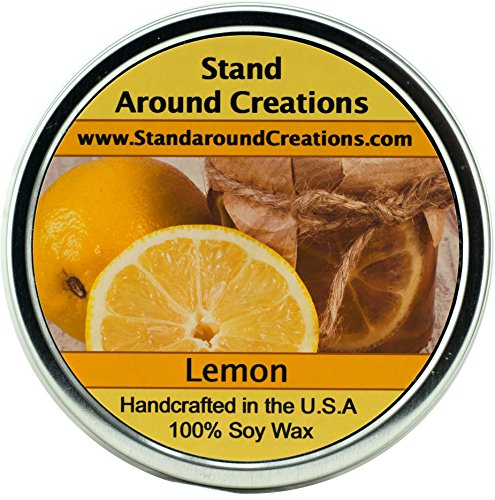 - Premium 100% All Natural Soy Wax Aromatherapy Candle - 16 oz Tin Lemon: Smooth and creamy with the perfect amount of lemon, crumbly crust and warm vanilla, Lemon Chiffon Fragrance Oil is a baker's dream come true. This fragrance is infused with natural essential oils, including Lemon and Clove.