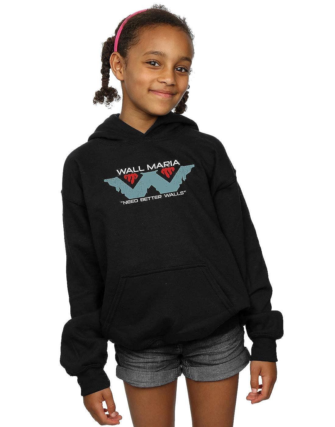 Ntesign Girls Wall Corp Hoodie