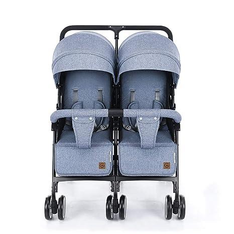 Baby carriage Peaceip Cochecito de bebé Gemelo El Carro ...