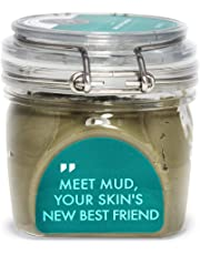Dead Sea Mud Mask with Spa Premium Quality (200g / 7 oz) – Deep Pore Cleansing and Acne Treatment on Face & Body - Purify Toxins & Impurities from Skin, Remove Dead Cells & Excessive Oil, Minimize Pores, Blemishes & Wrinkles for Smoother Softer Skin - Free Sanitary Spatula