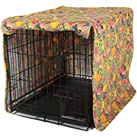 Molly Mutt Dog Crate Cover, Time After Time, Medium