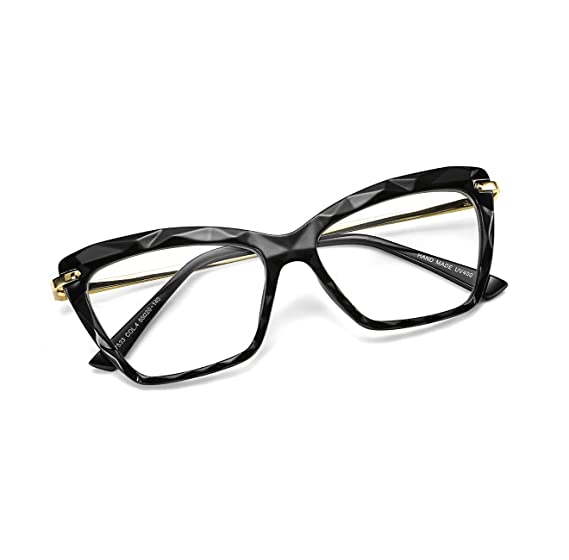 6394985956 FEISEDY Cat Eye Crystal Glasses Frame Women Non Prescription Optical Eyewear  B2440  Amazon.ca  Clothing   Accessories