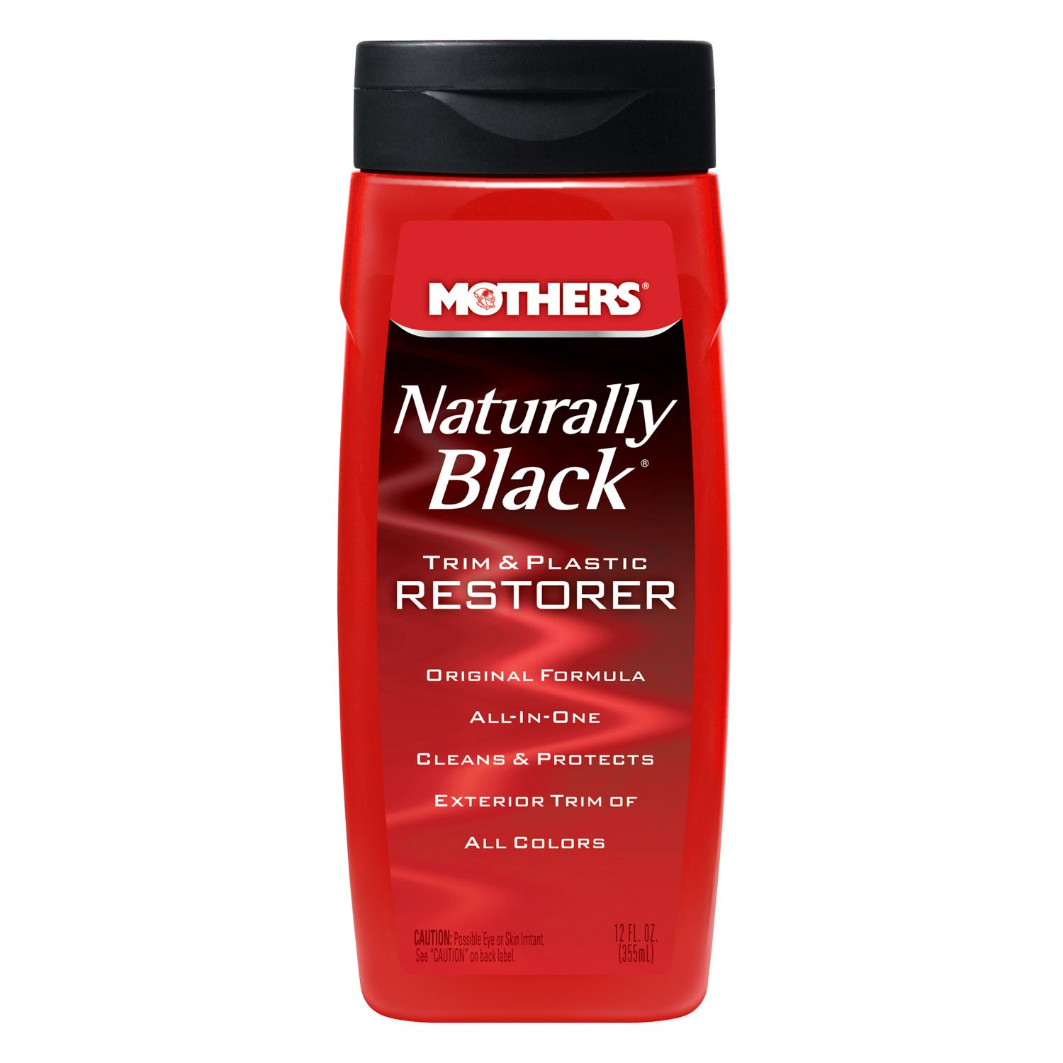 Mother's 46112 Naturally Trim and Plastic Restorer, Black MOTHERS
