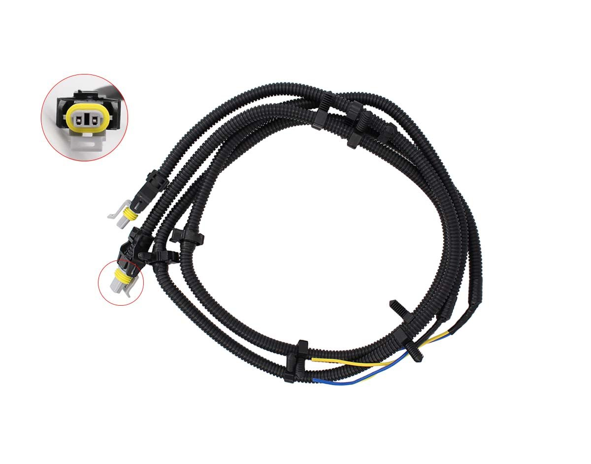 2 pcs of abs wheel speed sensor wire harness pigtail plug for buick century  lacrosse regal rendezvous cadillac cts deville sts chevrolet impala monte  carlo