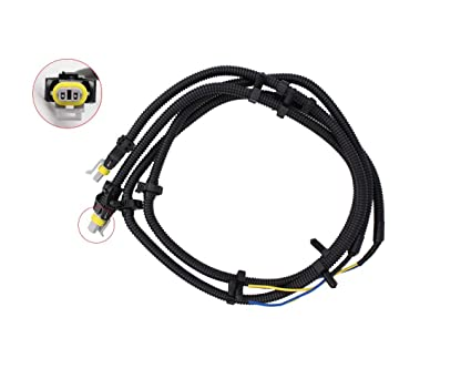 2 pcs of abs wheel speed sensor wire harness pigtail plug for buick century  lacrosse regal