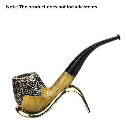Tubi di tabacco di legno di sandalo verde Tubi di tabacco pieno in legno  massello Man 43002e51263