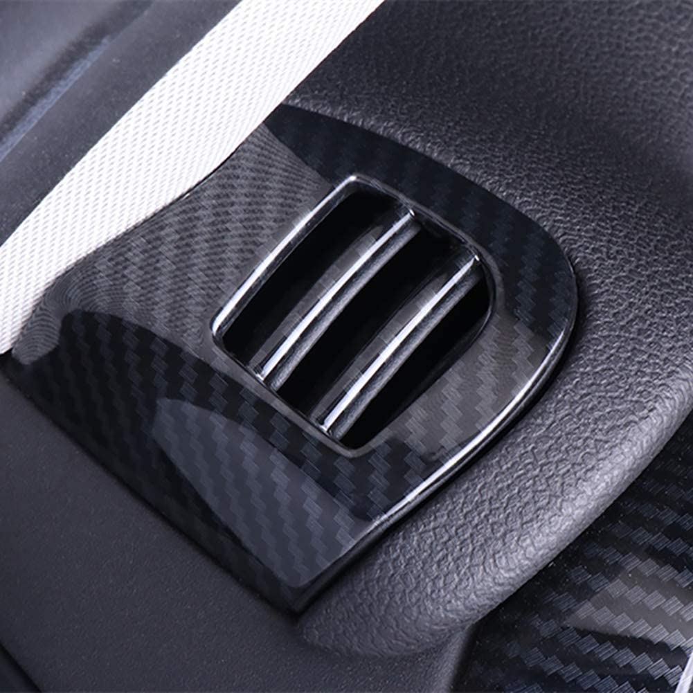 Car Air Vent coperchio di uscita di caso di Shell alloggiamento in fibra di carbonio Sticker Compatibile con Mini Cooper One S F55 F56 F57 Hatchback Rimontare Accessori