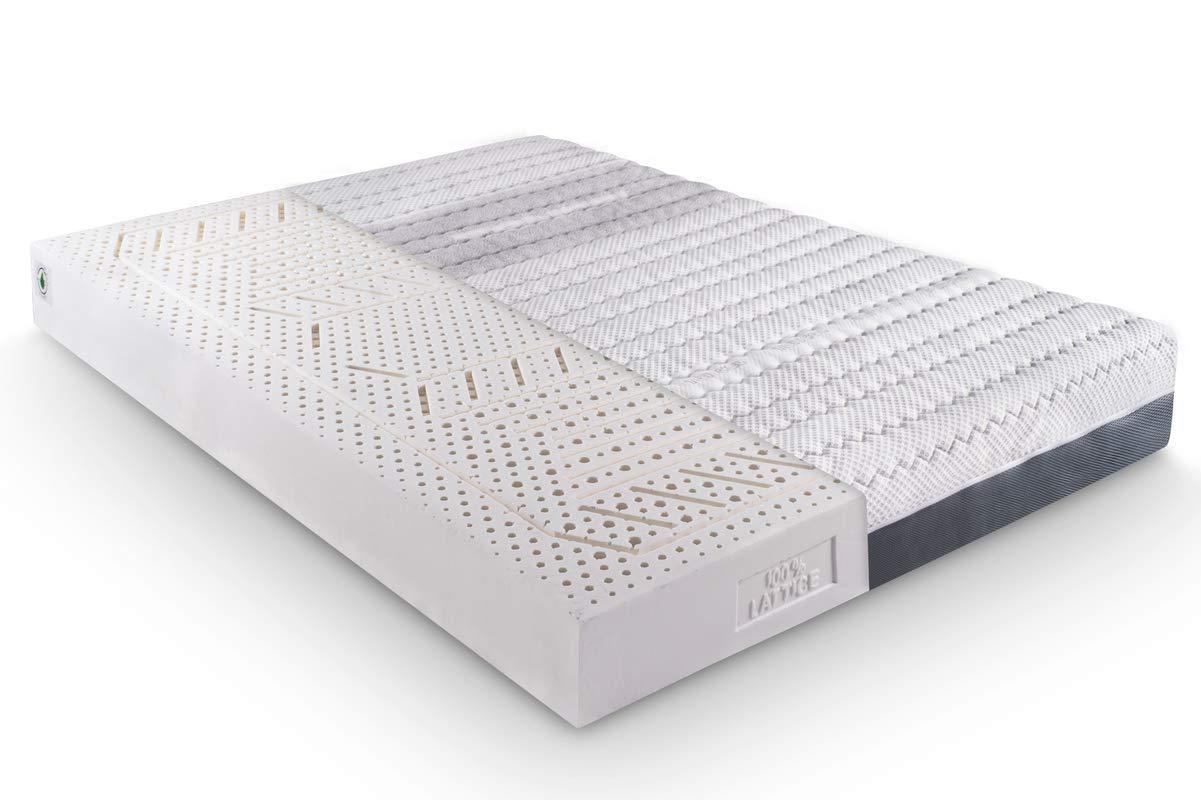 KAMA HAUS COLCHÓN 100% Latex | 75x190cm |Sistema 7 Zonas | Funda Tencel | Desenfundable | Núcleo 18cm | Altura Total: 21cm (±2cm) |: Amazon.es: Juguetes y ...