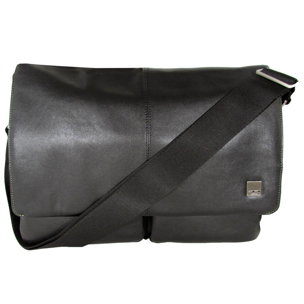 Knomo Kobe Messenger Bag,Black,one size