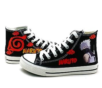 Naruto Anime Hatake Kakashi Cosplay Shoes Canvas Shoes Sneakers