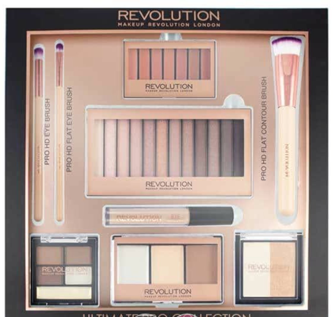 Calendario Dellavvento Makeup Revolution 2020.Makeup Revolution Ultimate Pro Collection 1541008148