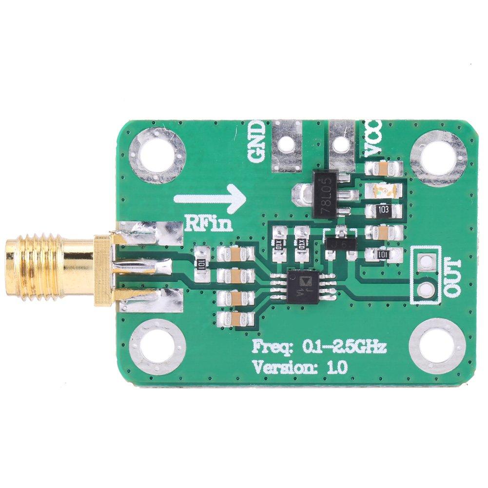Detector logarítmico 0.1 - medidor de potencia de medición de cabeza femenina de RF SMA de 2.5GHz: Amazon.es: Industria, empresas y ciencia
