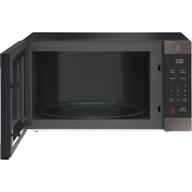 LG 2.0 Cu. Ft. NeoChef Countertop Microwave (LMC2075BD) Stainless Steel/Black (Renewed) by LG (Image #5)