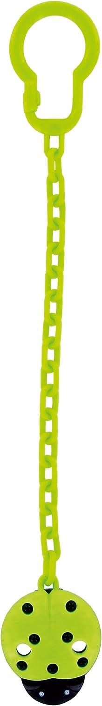 dise/ño de mariquita Colgante para chupete color verde DBD Remond 170824